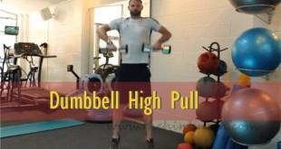 Dumbbell-High-Pull