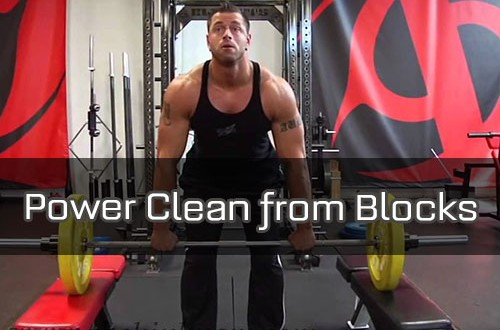 Power-Clean-from-Blocks