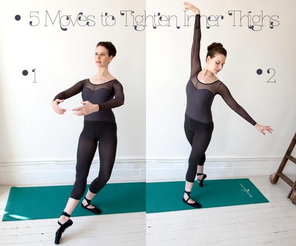 Giảm mỡ đùi nhanh chóng với động tác ballet đơn giản