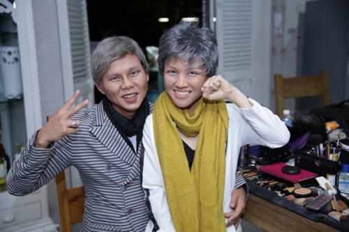 11 - Vợ chồng Phan Đinh Tùng già nua trong MV