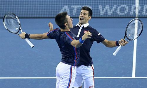 64eb828c43 - Anh em Djokovic chung niềm vui chiến thắng tại Trung Quốc