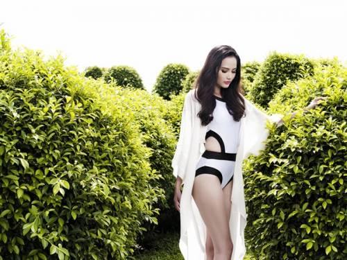 94 4 - Hoa hậu Diệu Linh khoe vẻ sexy với bikini một mảnh