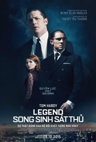 "Poster phim ""Legend""."