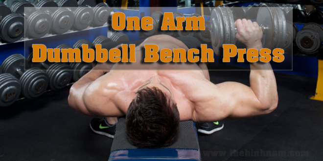 One-Arm-Dumbbell-Bench-Press