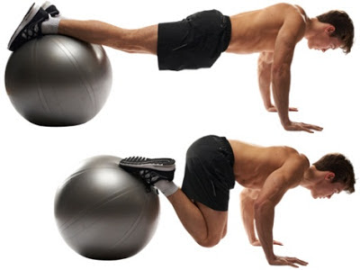 Plank-Crunches-on-Stability-Ball
