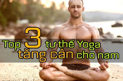 yoga tang can cho nam 500x330 - Top 3 tư thế Yoga tăng cân nhanh hiệu quả cho phái mạnh