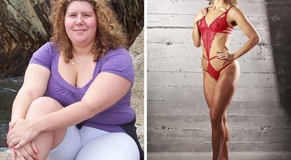 47d5476040 600x330 - Hành trình giảm cân của cô gái từ 105kg trở thành người mẫu bikini