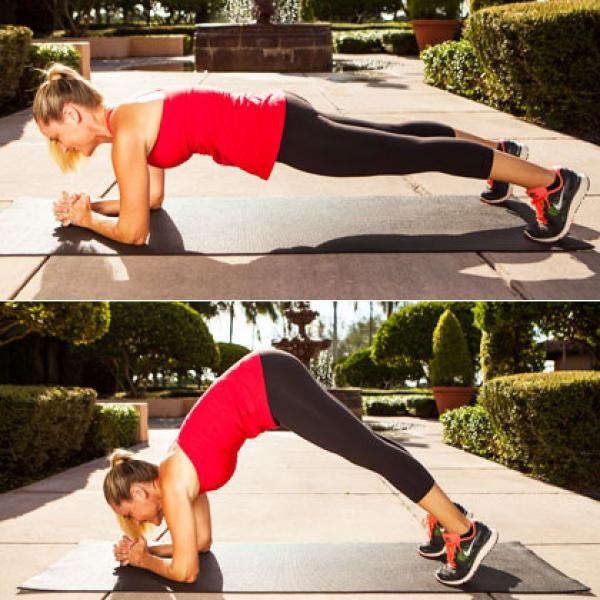 6. inching elbow plank 420x420 Bài tập thể dục giảm mỡ bụng