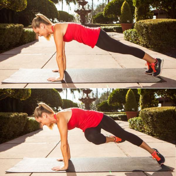 7. full plank passe twist 420x420 Bài tập thể dục giảm mỡ bụng