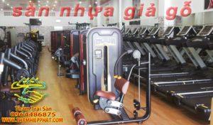 san nhua giago 300x176 - thi công thảm phòng gym - 0903579486