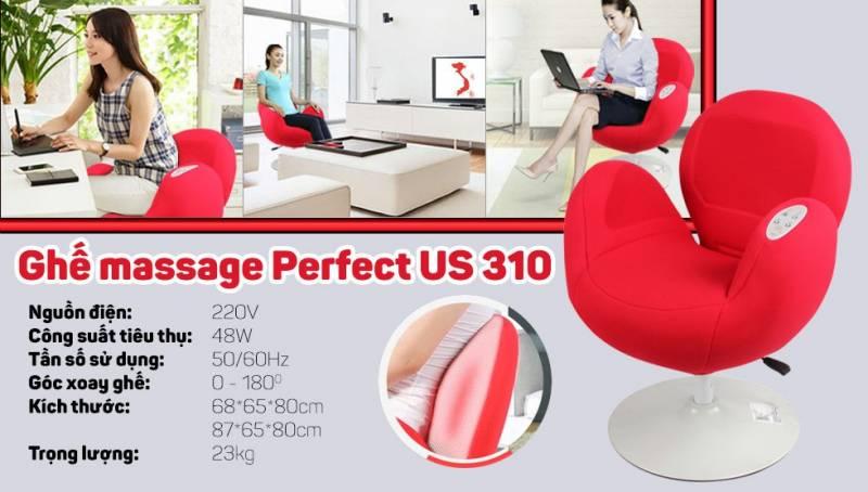 310 - Ghế Massage Perfect US 310Giá : 7.000.000 VND