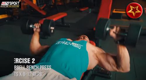 50 - khám phá tập luyện cơ ngực của anh PT