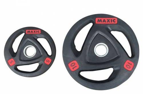 70 500x330 - Bánh tạ cao su phòng gym Maxic phi 50