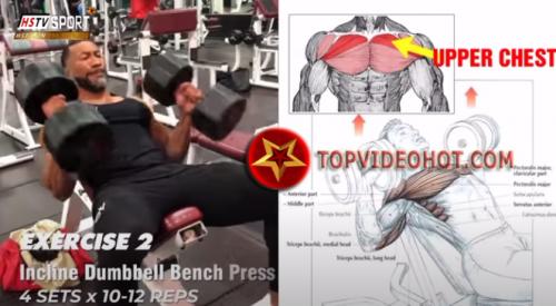 73 - bài tập xây dựng cơ ngực bạn ko thể bỏ qua