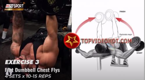 89 - bài tập cơ ngực bằng tạ đơn