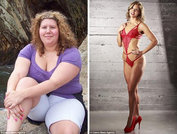 cô gái giảm cân để trở thành người mẫu bikini